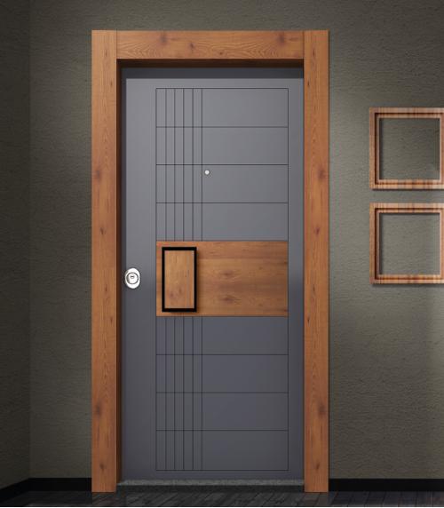 Antrasit I Boynatu - Çorum Çelik Kapı